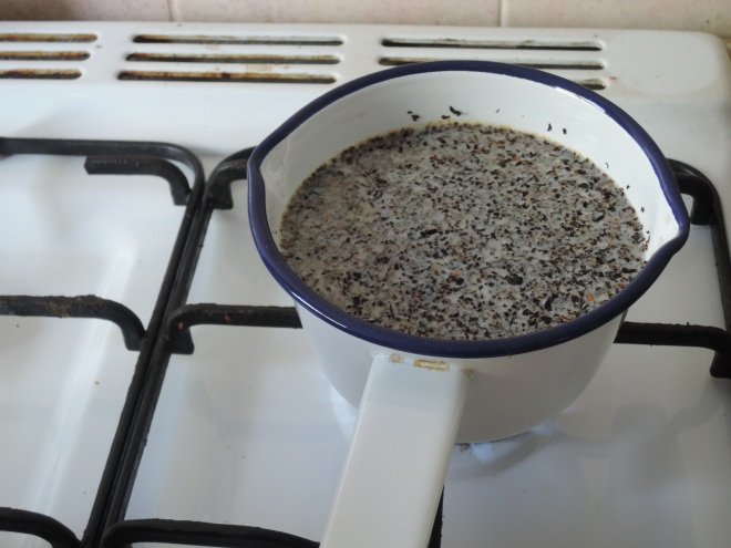 The best way to make chai: on the stove