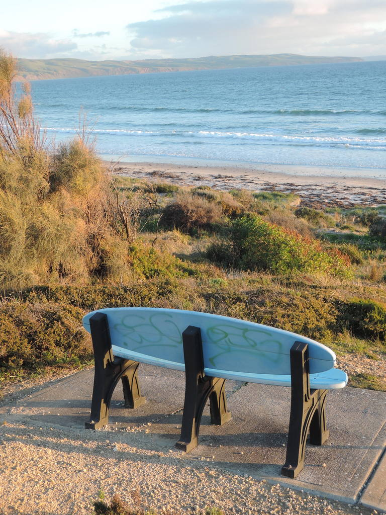Winter sunset at Aldinga Beach