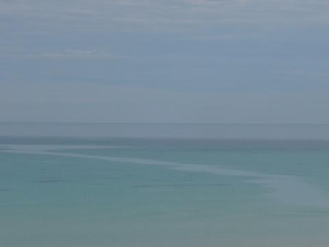 Path across the sea