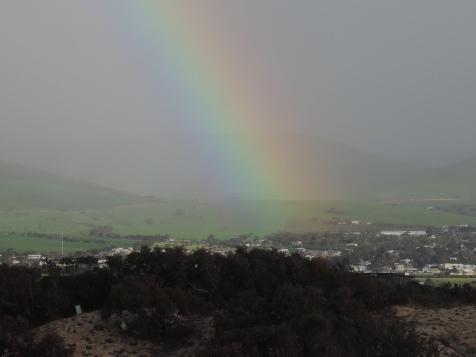 Rainbow over the Sellicks Hills