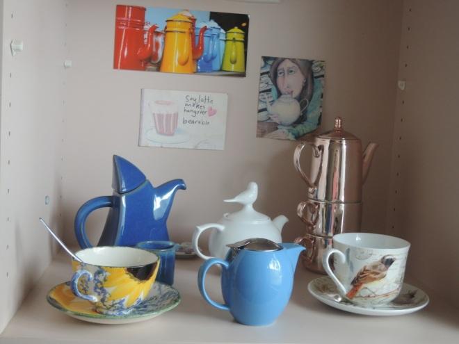 Crazy teapot lady